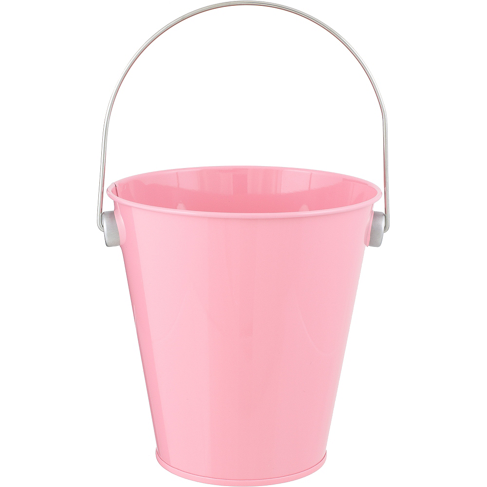 Pink Metal Favor Pail 4 14in X 4 12in Party City Canada