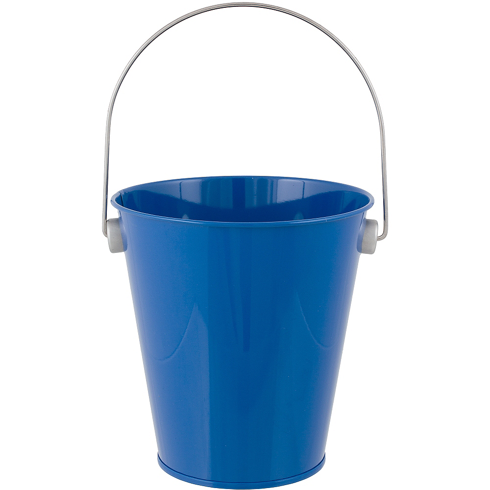 Royal Blue Metal Favor Pail 4 1 4in X 4 1 2in Party City