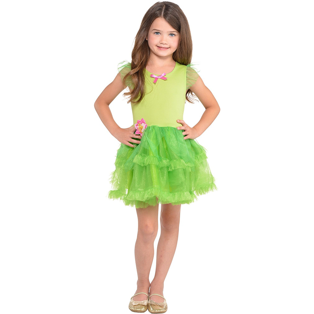 Girls Tutu Tinkerbell Costume | Party City