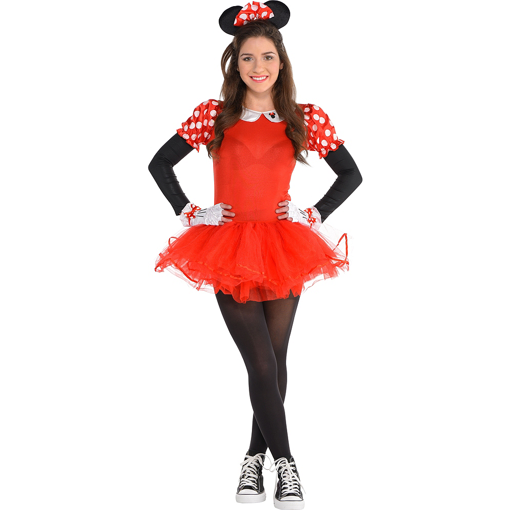 Teen Girls Dancing Minnie Mouse Costume Image #1