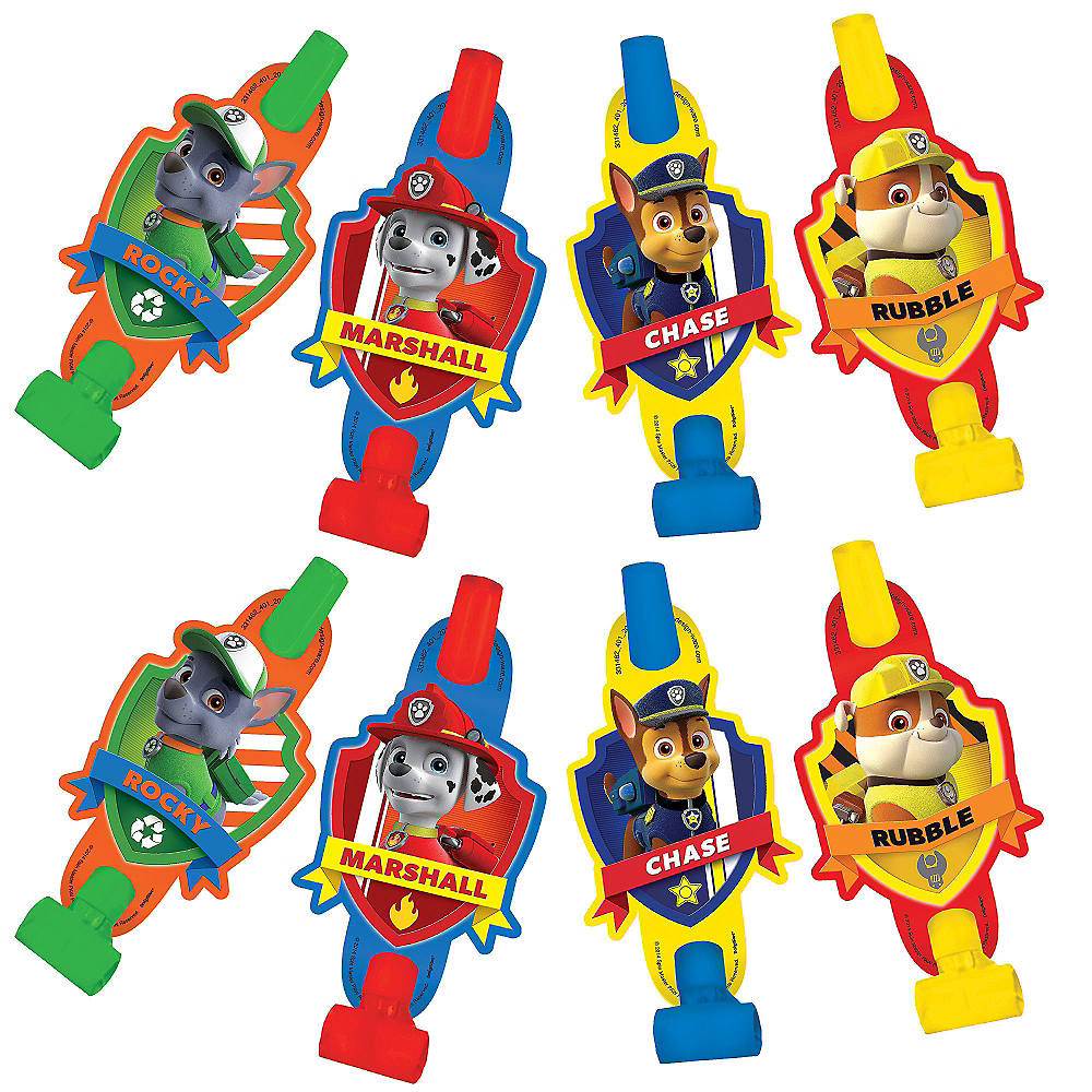 Nav Item for PAW Patrol Blowouts 8ct Image #1