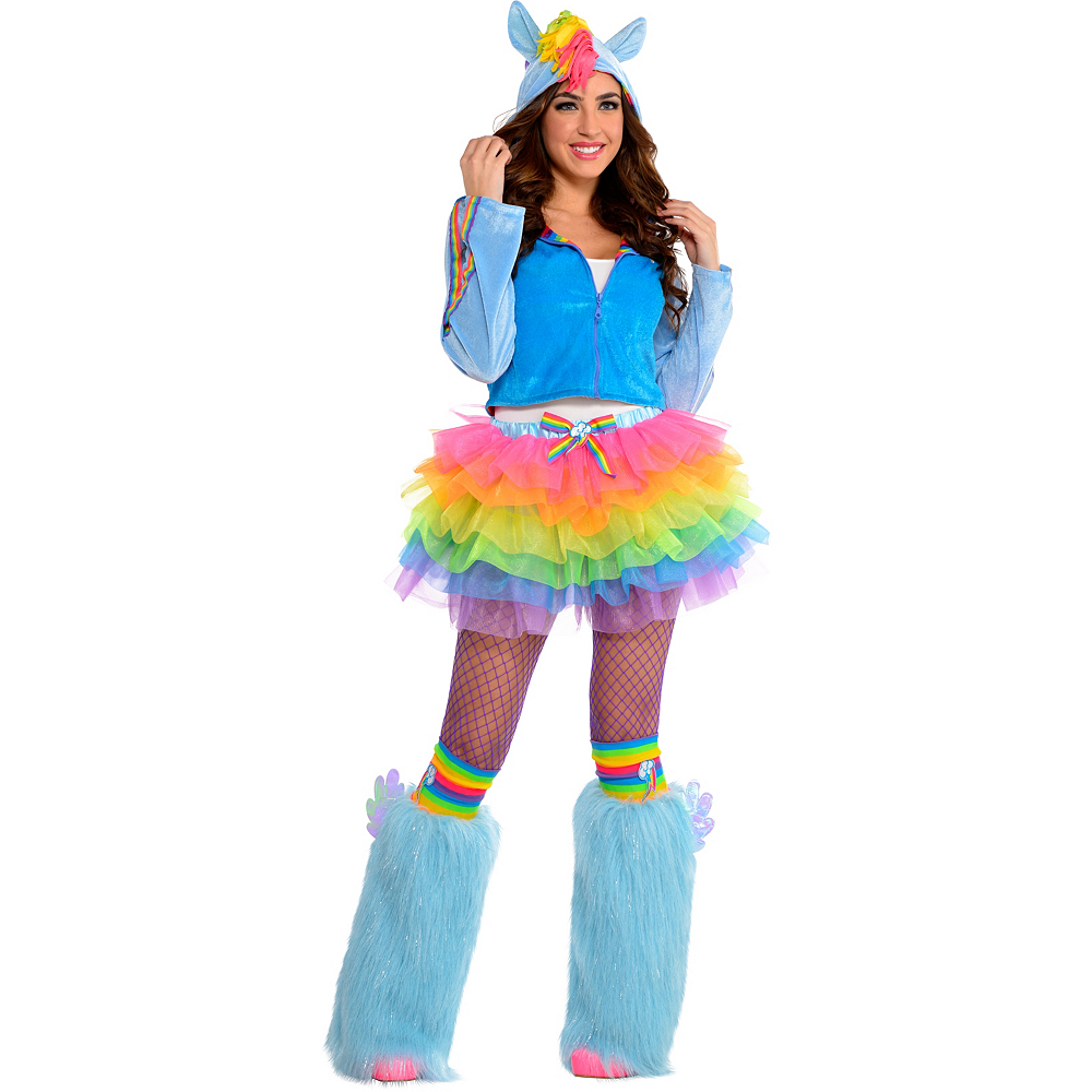 a8420e22e7 Adult Flirty Rainbow Dash Costume - My Little Pony Image #1 ...