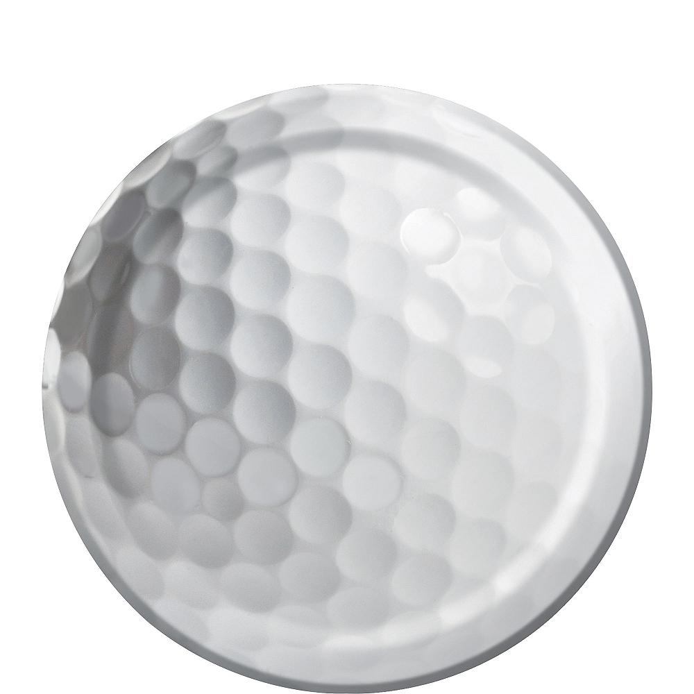 Golf Dessert Plates 8ct Image #1
