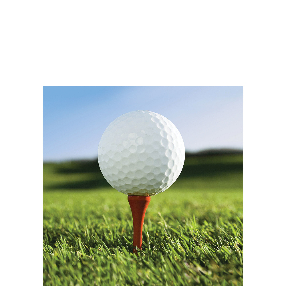 Golf Beverage Napkins 18ct Image #1