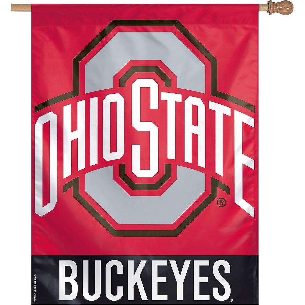 Ohio State Buckeyes Banner Flag Image #1
