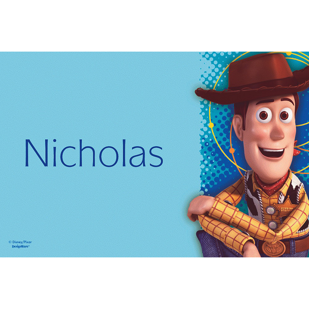 Custom Toy Story Power Up Thank You Notes Image #1