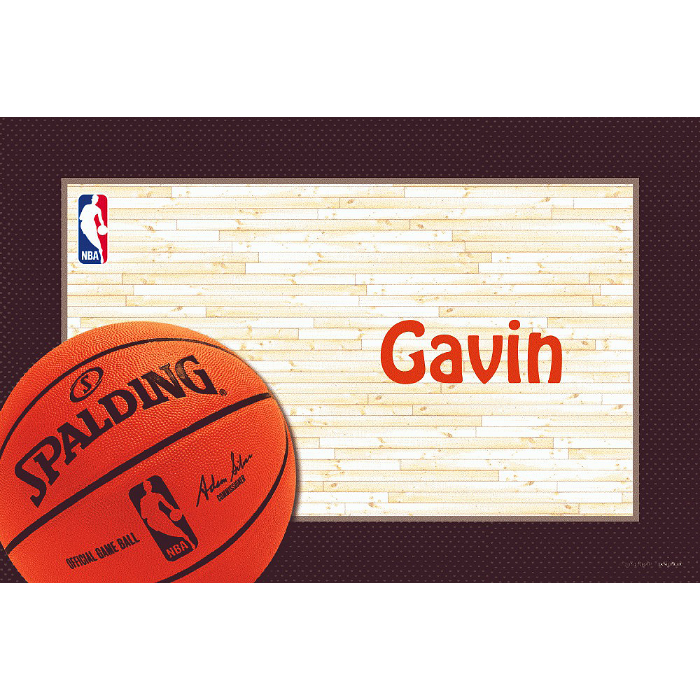 Custom NBA Spalding Thank You Notes Image #1