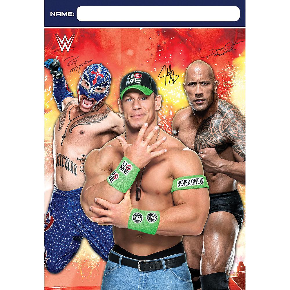 WWE Favor Bags 8ct Image #1
