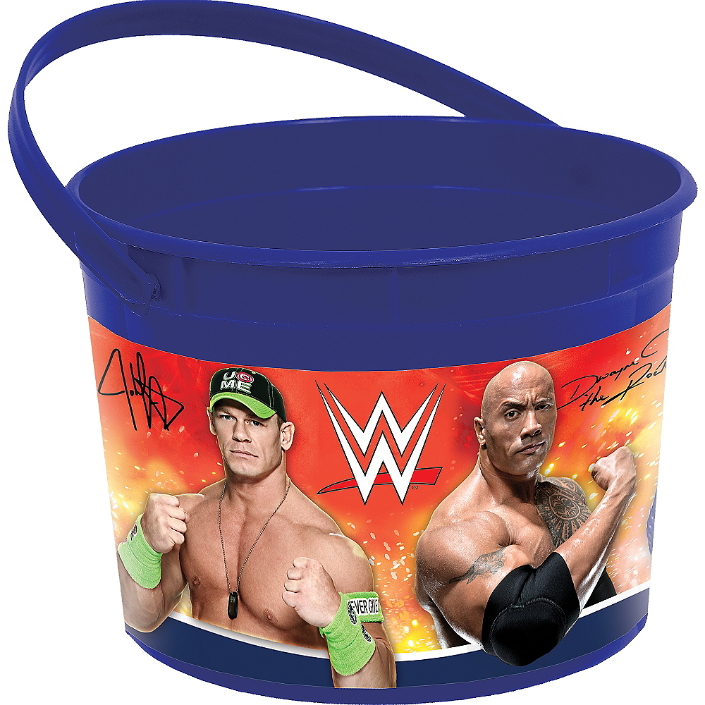 WWE Favor Container Image #1