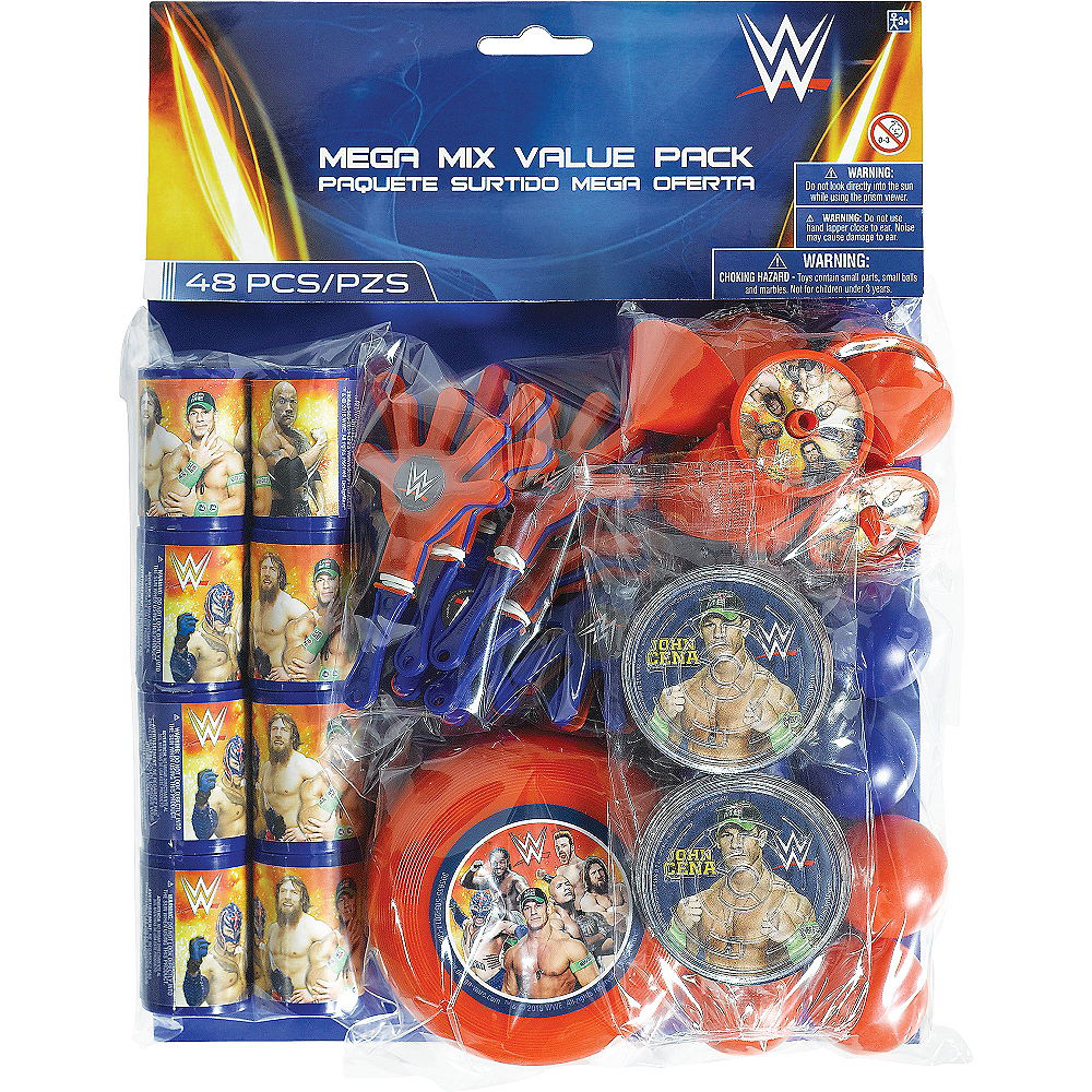 WWE Favor Pack 48pc Image #2