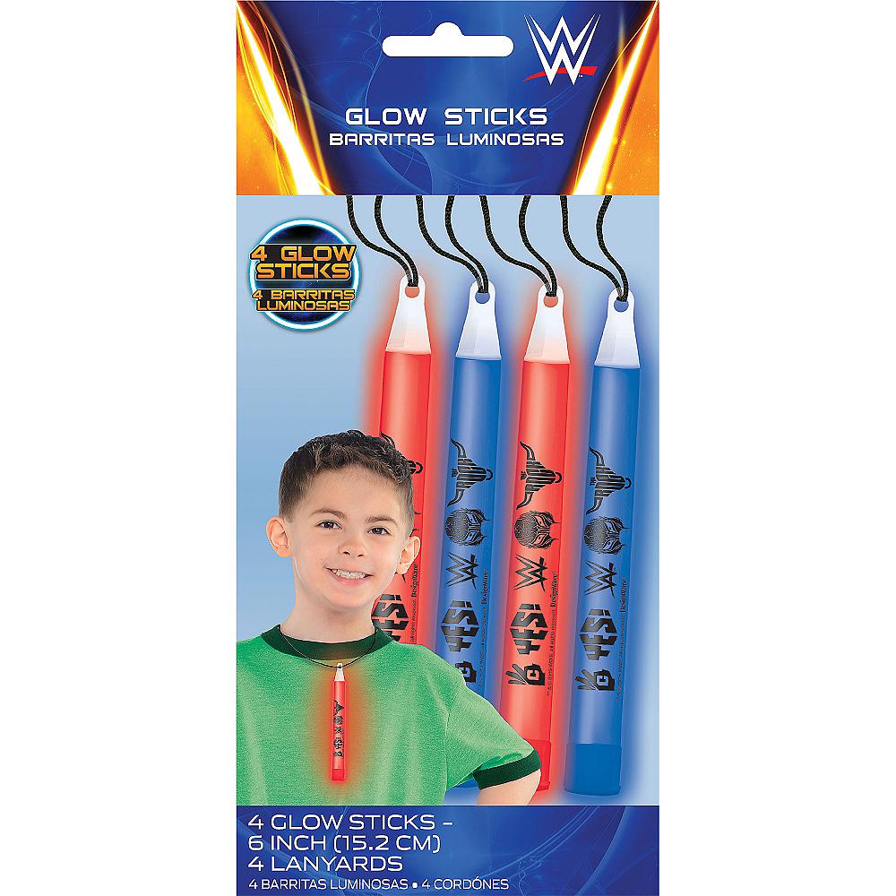 WWE Glow Sticks 4ct Image #1