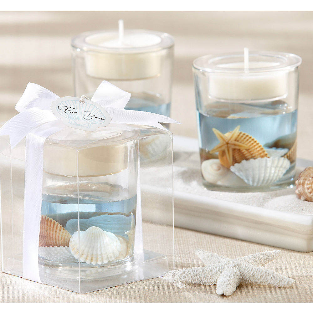 Seashell Tealight Candle Holder Party City