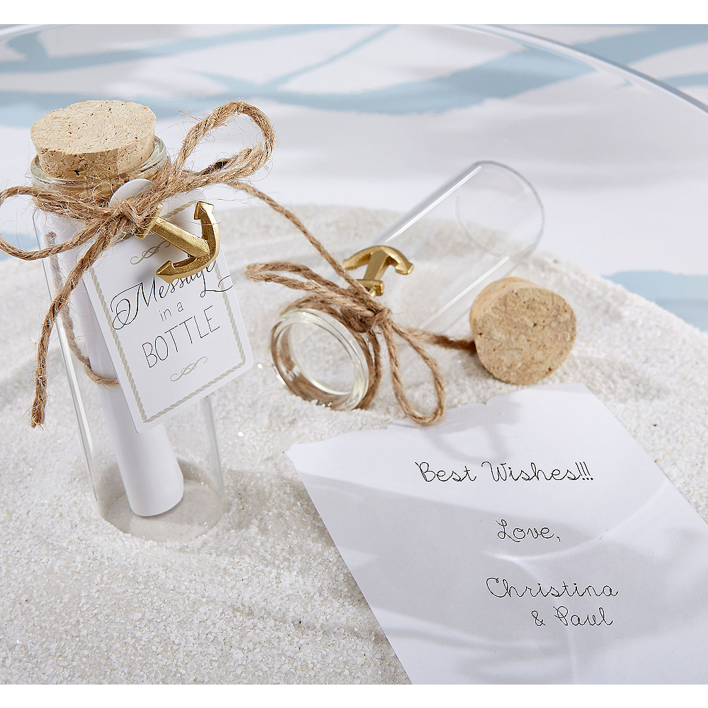 Message in a Bottle Favors Image #1
