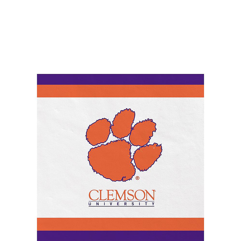 Clemson Tigers Beverage Napkins 24ct Image #1