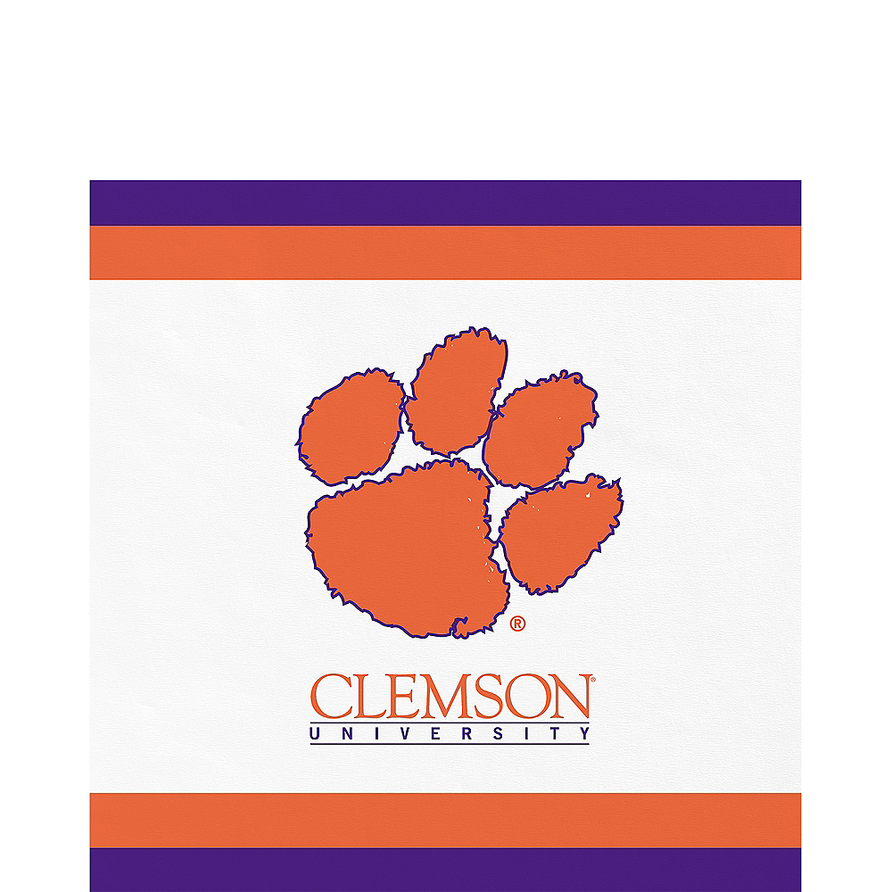 Clemson Tigers Lunch Napkins 20ct Image #1