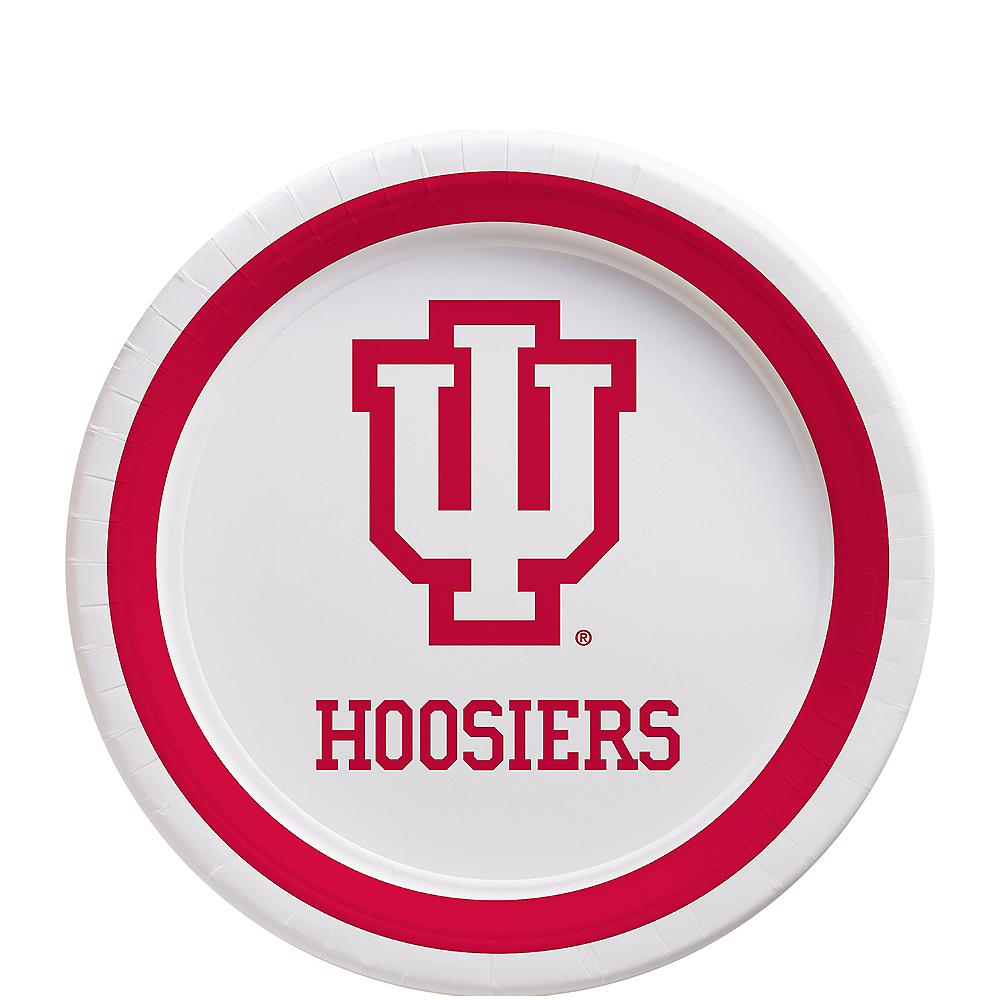 Indiana Hoosiers Dessert Plates 12ct Image #1