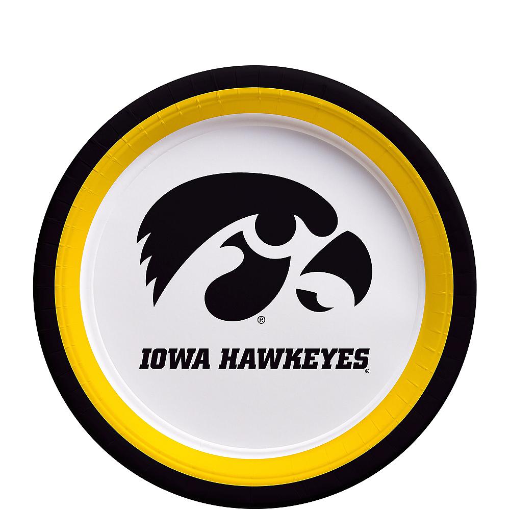 Iowa Hawkeyes Dessert Plates 12ct Image #1