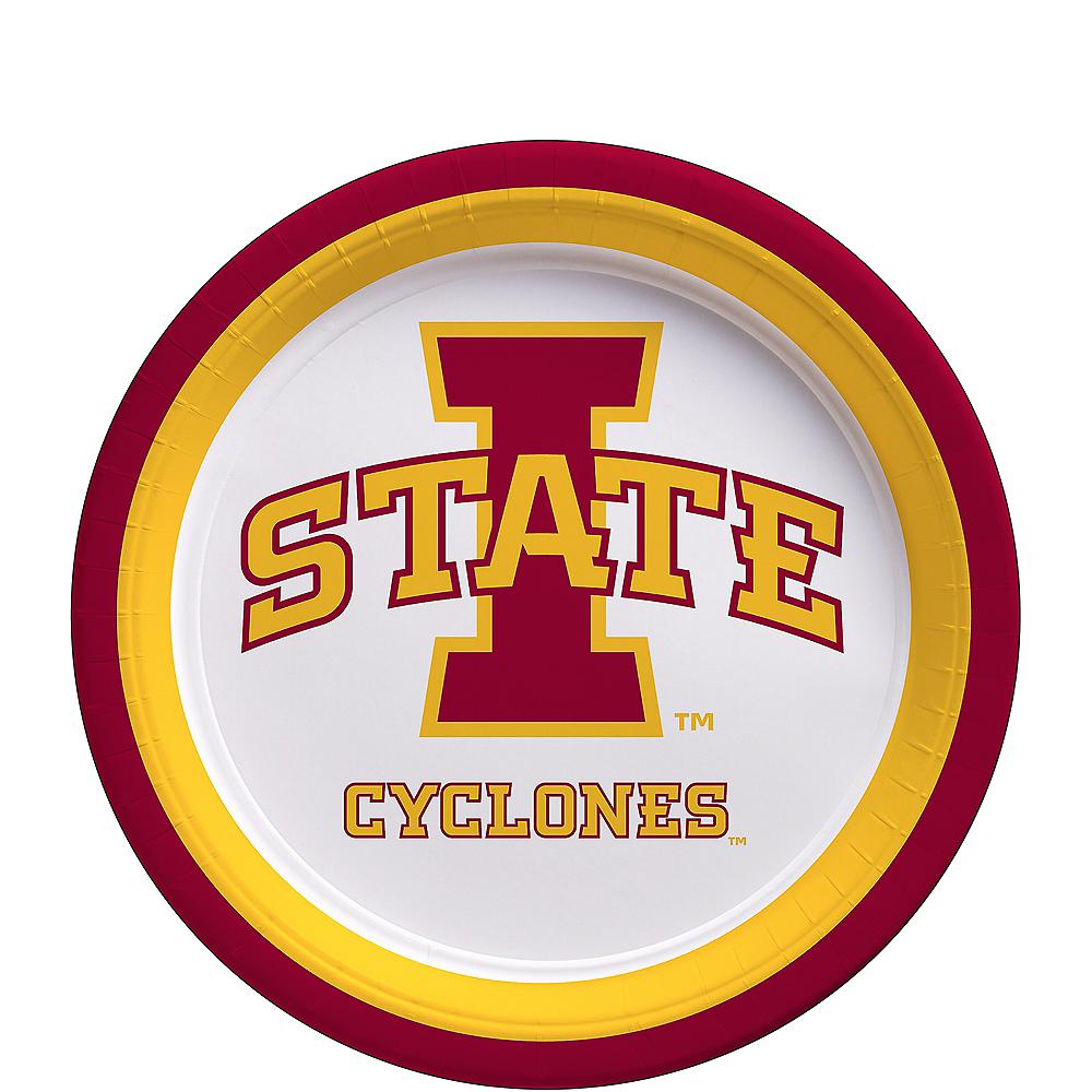 Iowa State Cyclones Dessert Plates 12ct Image #1
