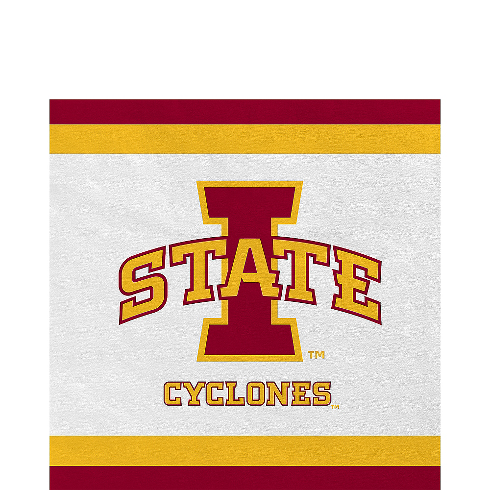 Iowa State Cyclones Lunch Napkins 20ct Image #1