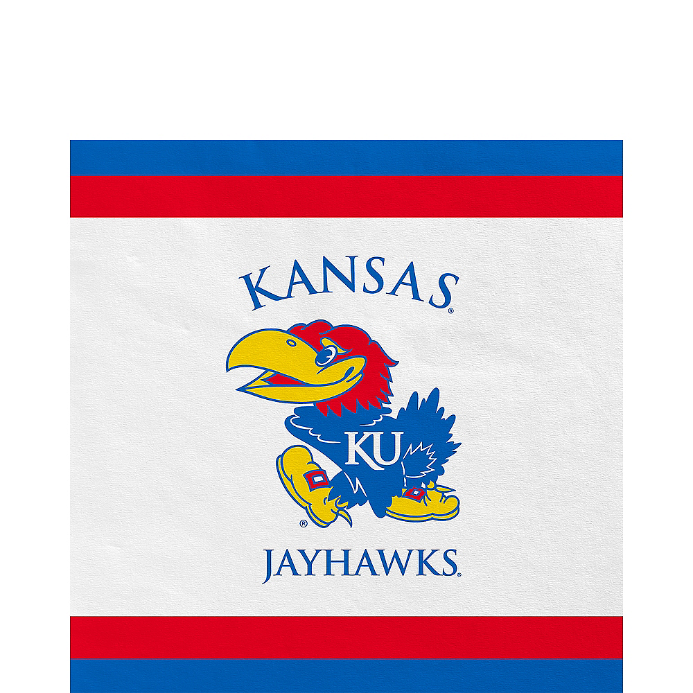Kansas Jayhawks Lunch Napkins 20ct Image #1