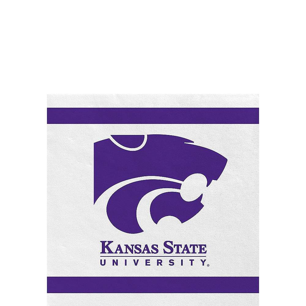Kansas State Wildcats Beverage Napkins 24ct Image #1