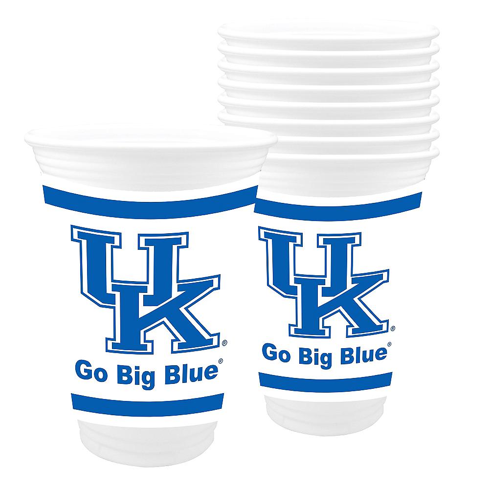 Kentucky Wildcats Plastic Cups 8ct Image #1