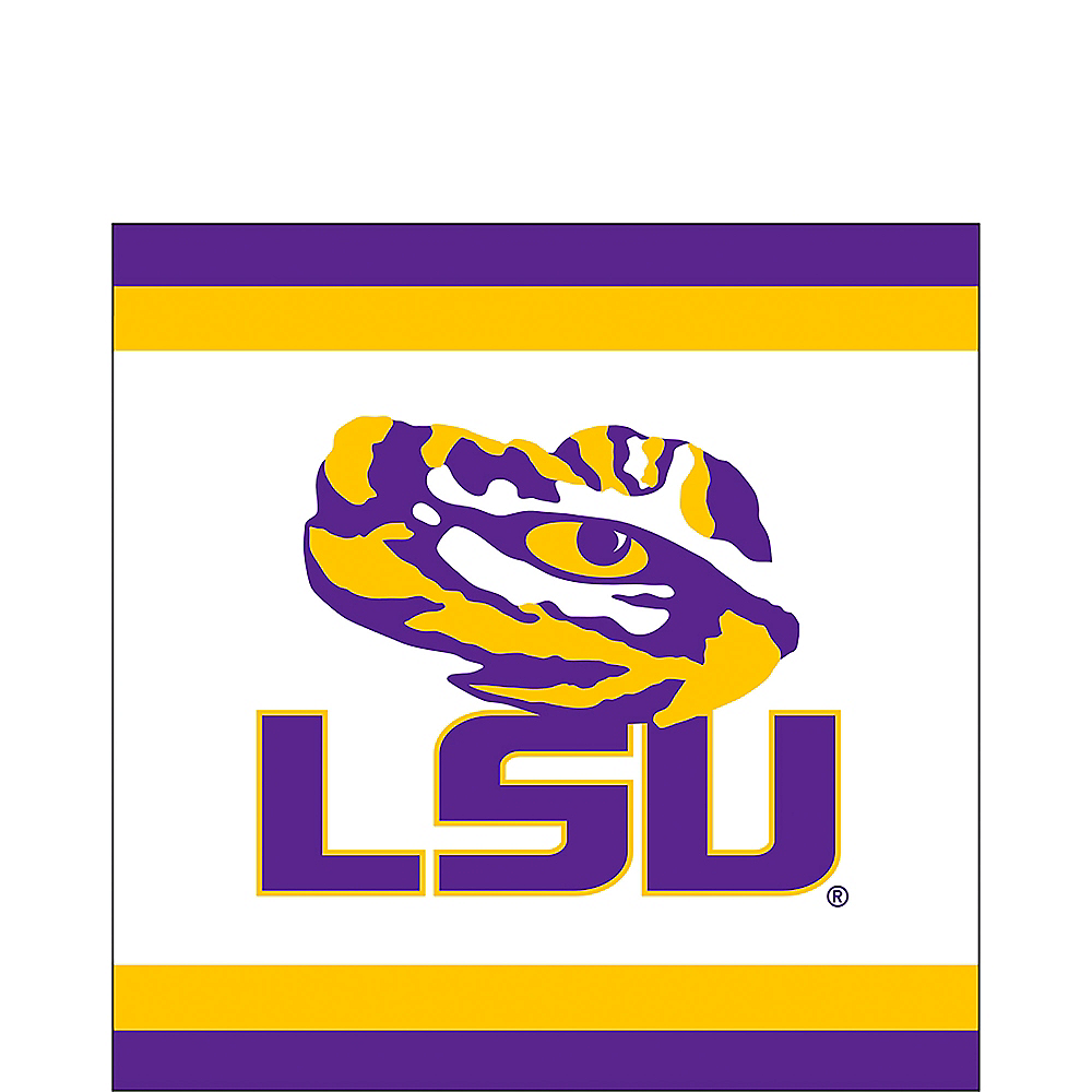 Louisiana State Tigers Lunch Napkins 20ct Image #1