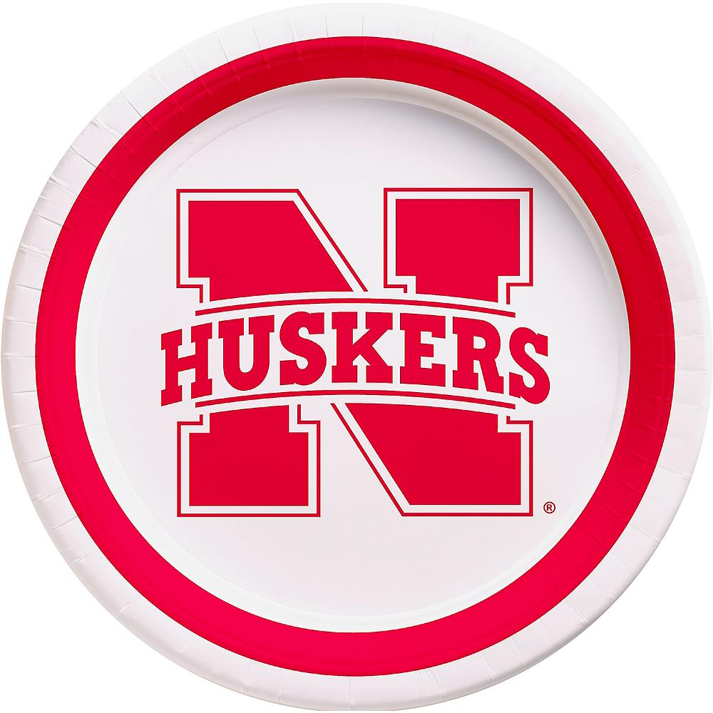 Nebraska Cornhuskers Lunch Plates 10ct Image #1