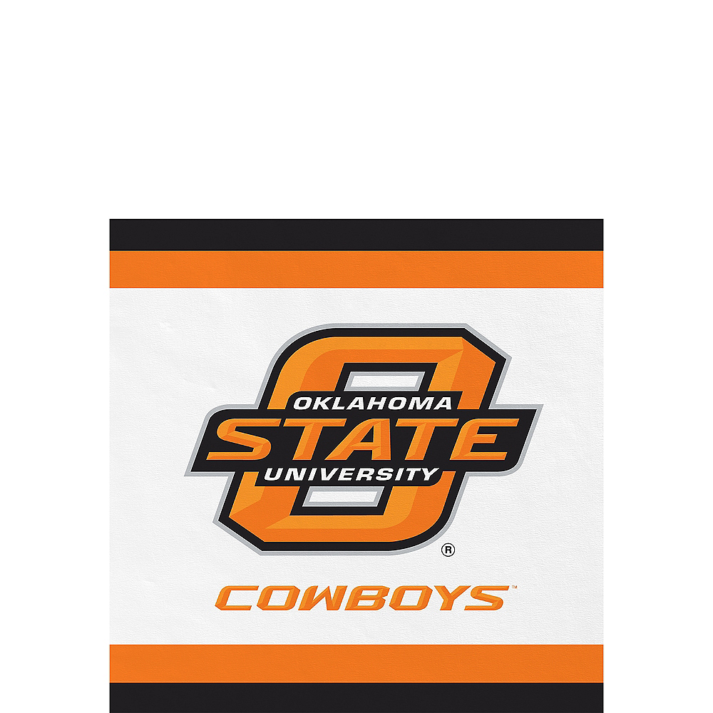 Nav Item for Oklahoma State Cowboys Beverage Napkins 24ct Image #1