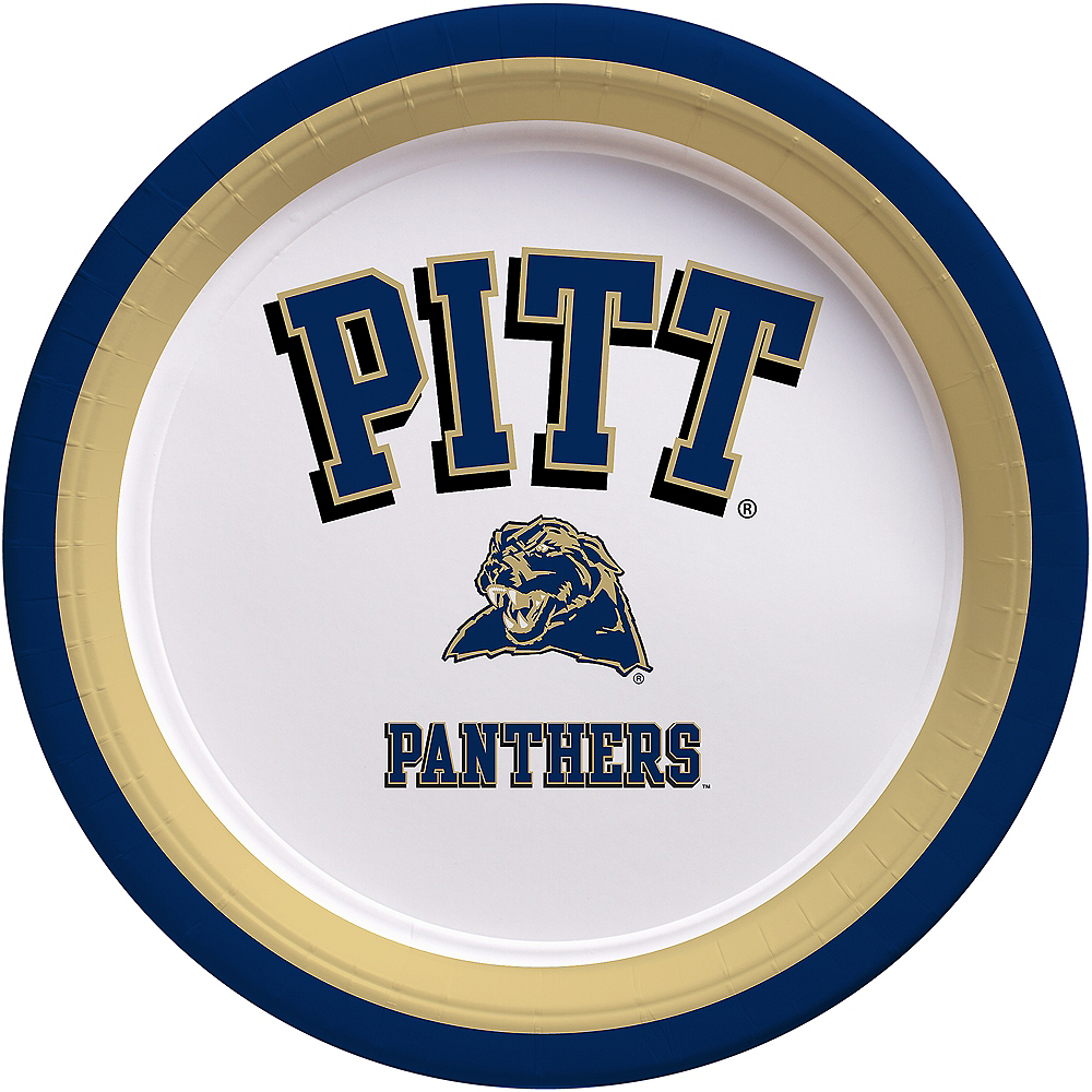 Pittsburgh Panthers Lunch Plates 10ct Image #1