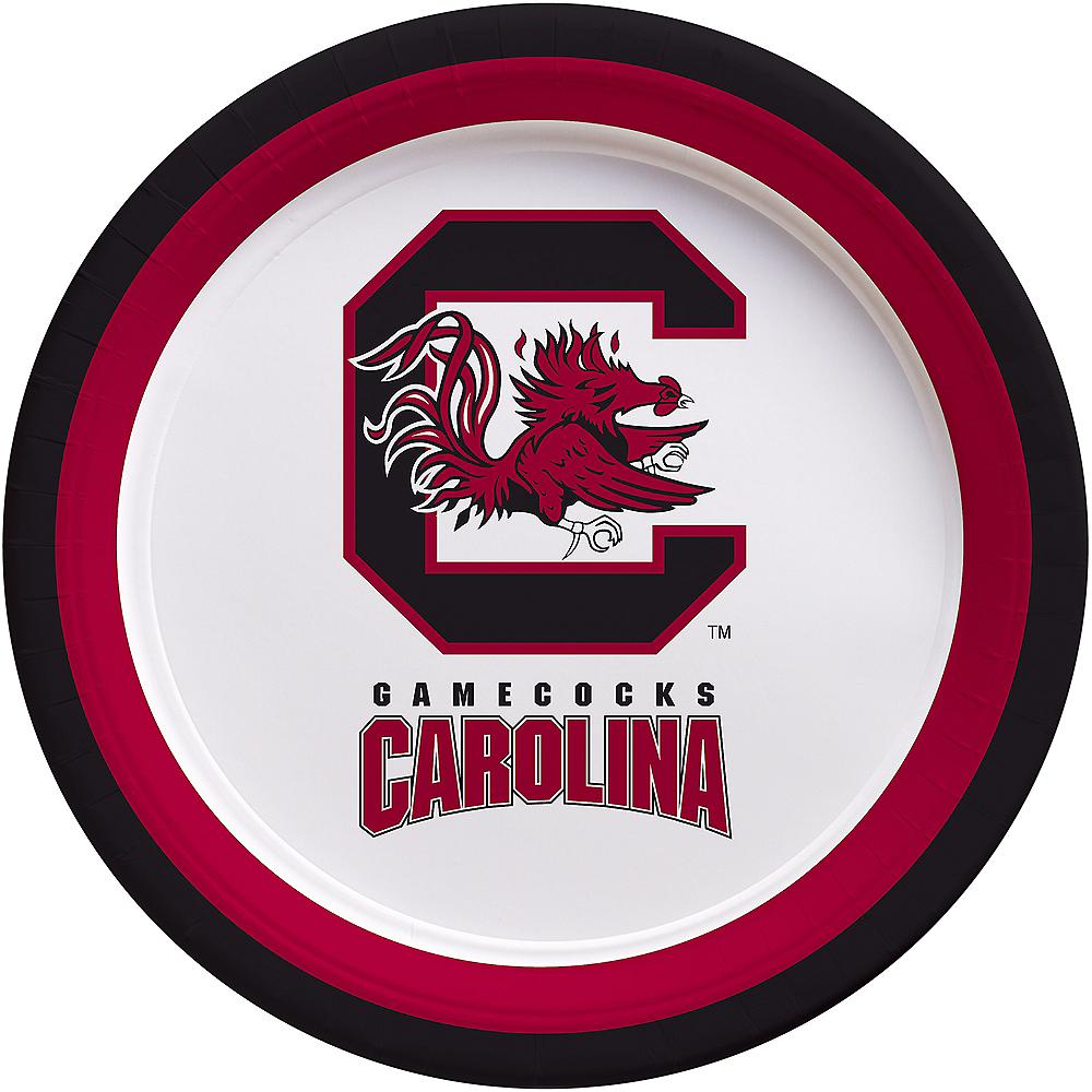 South Carolina Gamecocks Lunch Plates 10ct Image #1