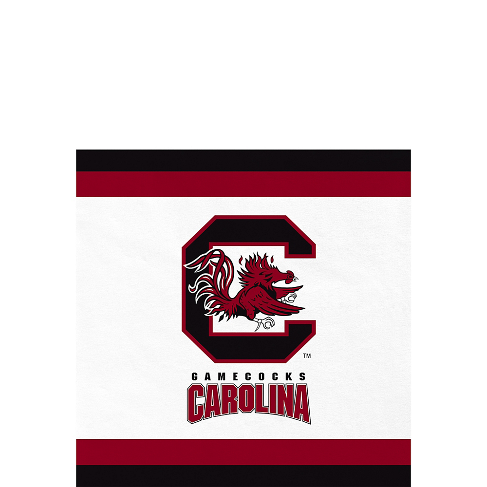 South Carolina Gamecocks Beverage Napkins 24ct Image #1