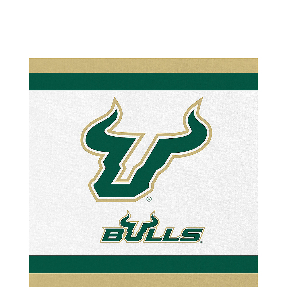 South Florida Bulls Lunch Napkins 20ct Image #1