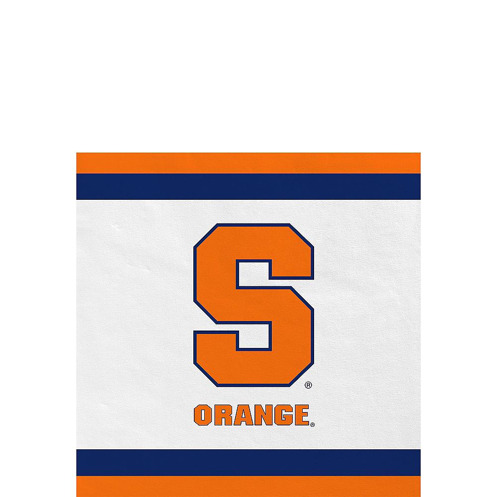 Syracuse Orange Beverage Napkins 24ct Image #1