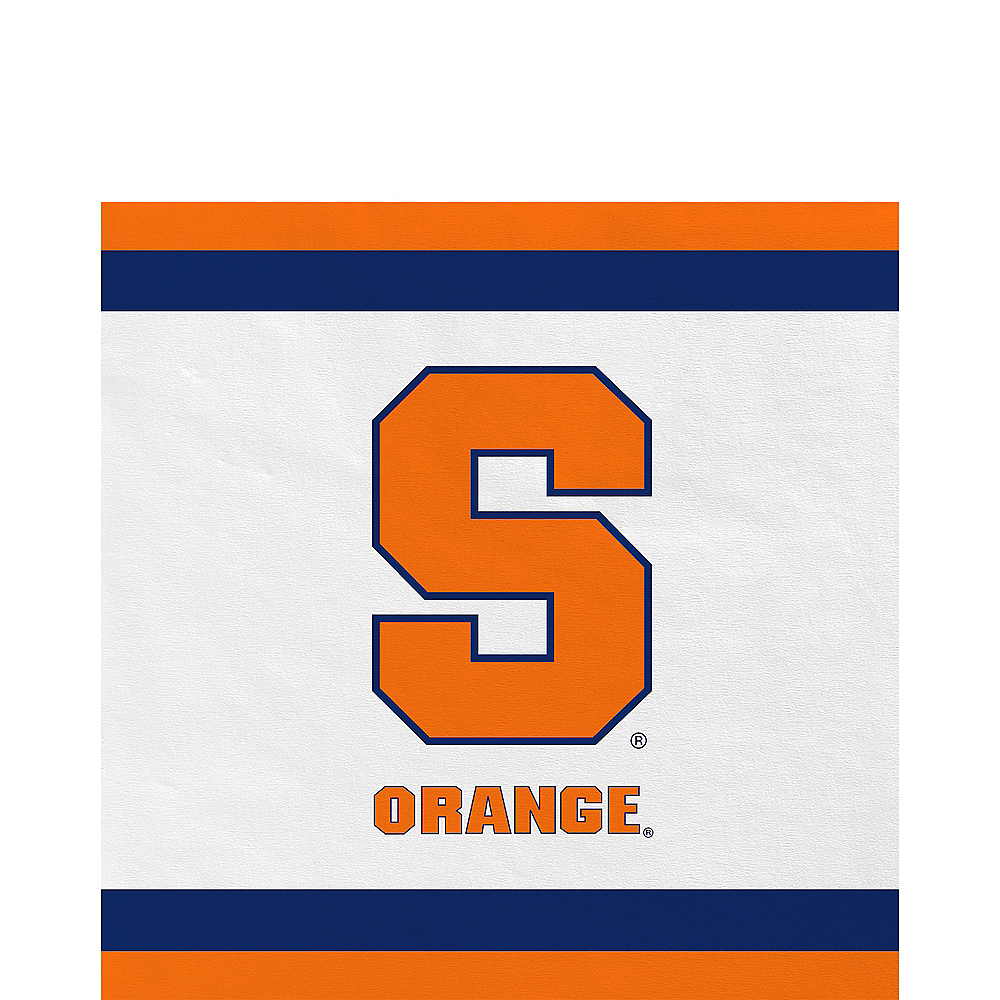 Syracuse Orange Lunch Napkins 20ct Image #1