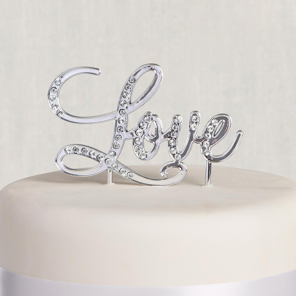 Love Wedding Cake Topper Image #1
