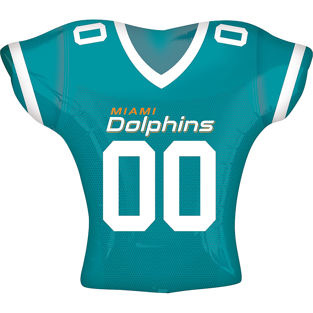 Nav Item for Miami Dolphins Balloon - Jersey Image #1