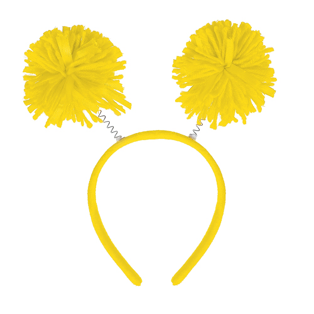 Yellow Pom-Pom Head Bopper Image #1