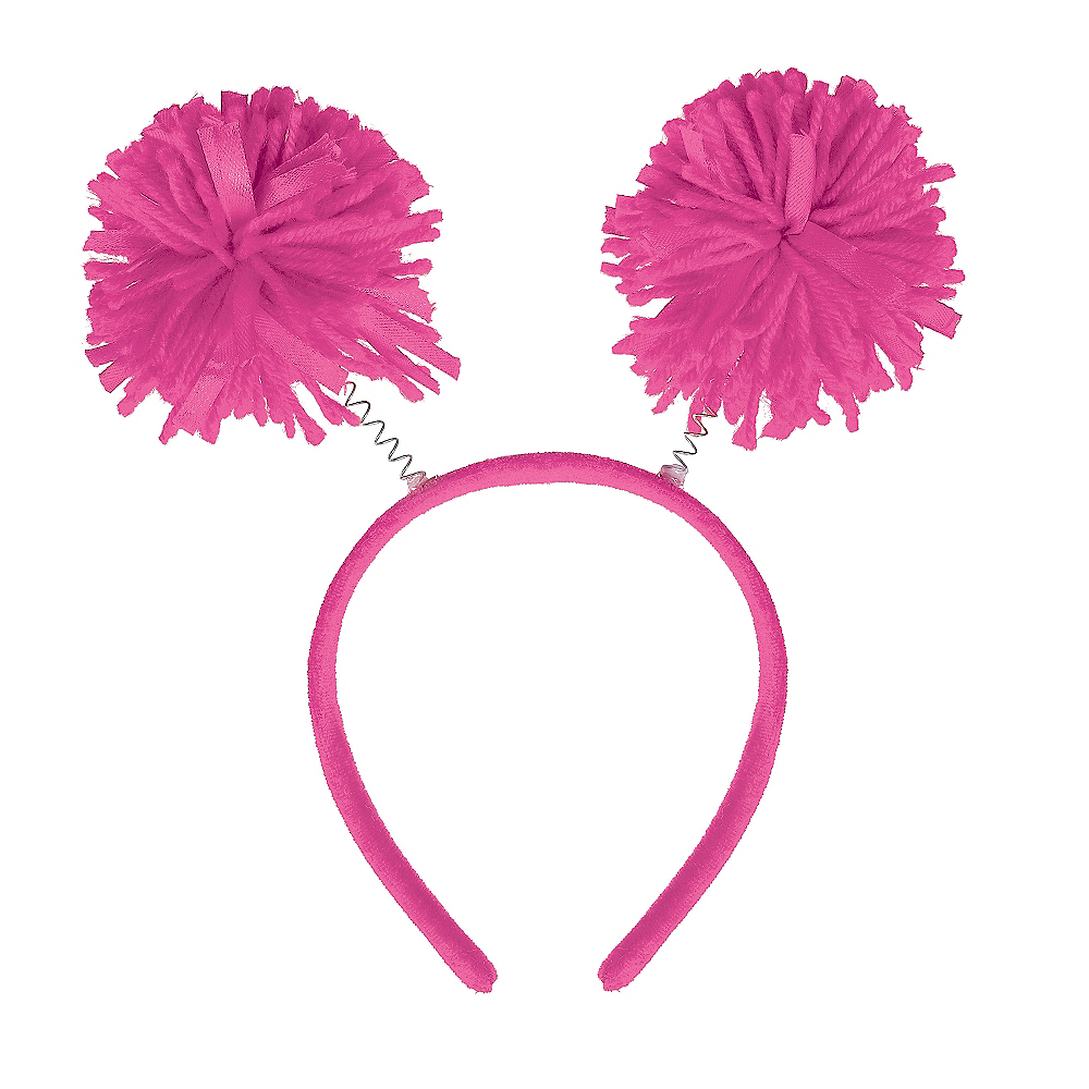 Nav Item for Pink Pom-Pom Head Bopper Image #1