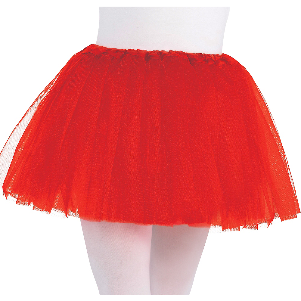 Child Red Tutu Image #1