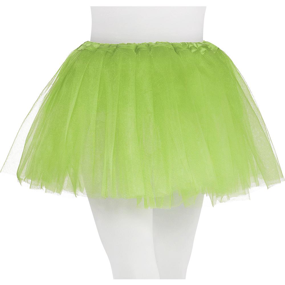 Child Neon Green Tutu Image #1