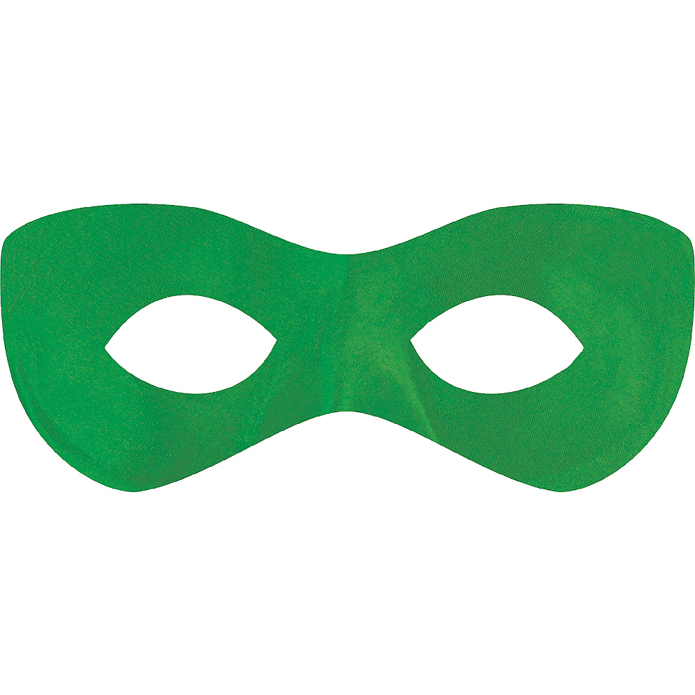Green Domino Mask Image #1