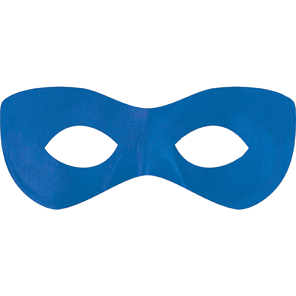 Blue Domino Mask Image #1