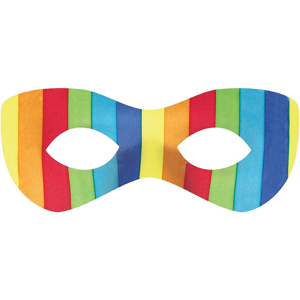 Rainbow Domino Mask Image #1