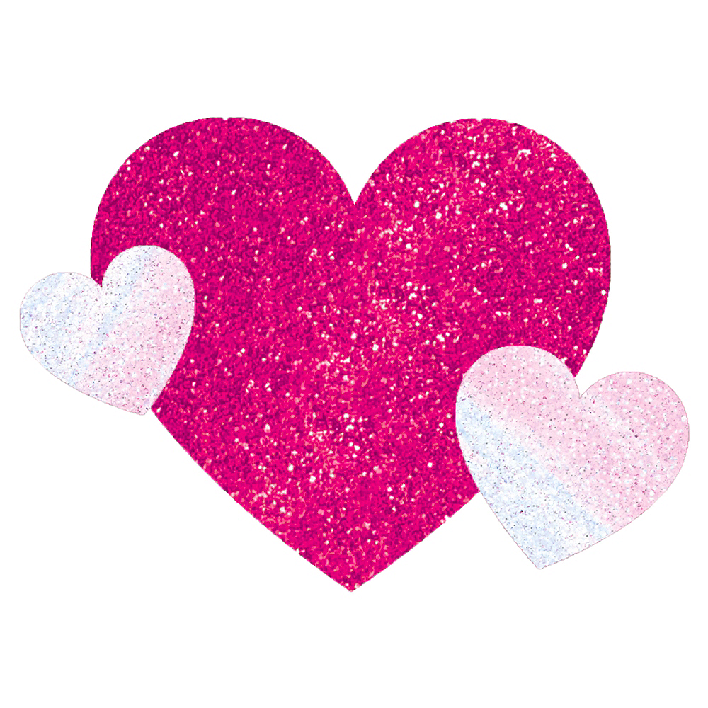 Pink Heart Body Jewelry Image #1