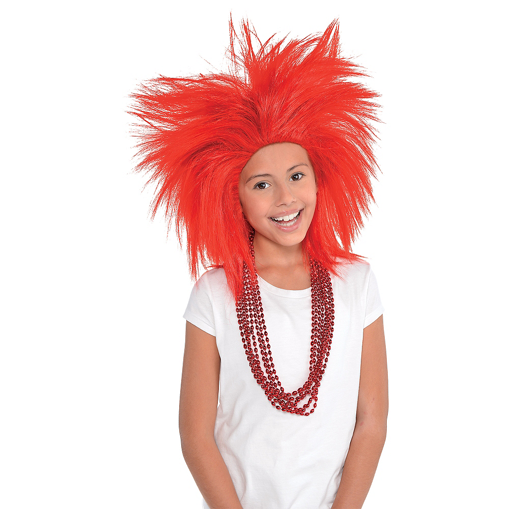 Red Crazy Wig Image #2