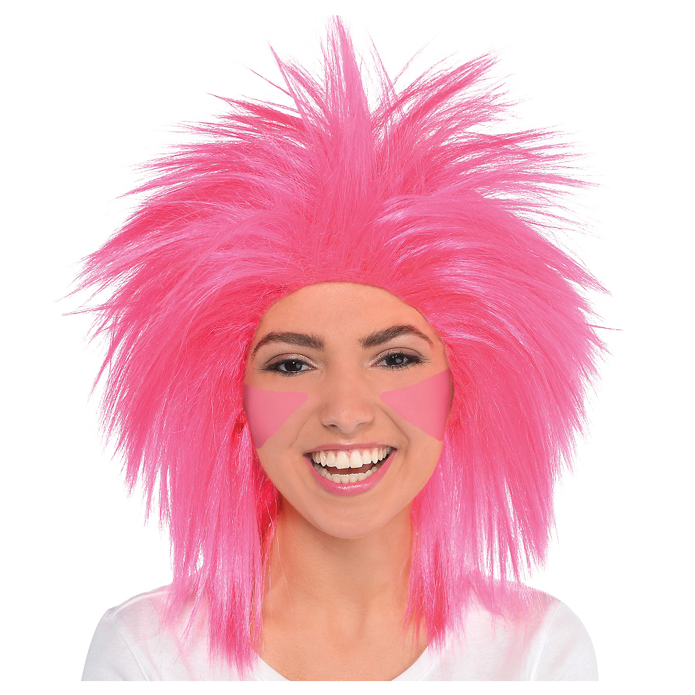 Nav Item for Pink Crazy Wig Image #1
