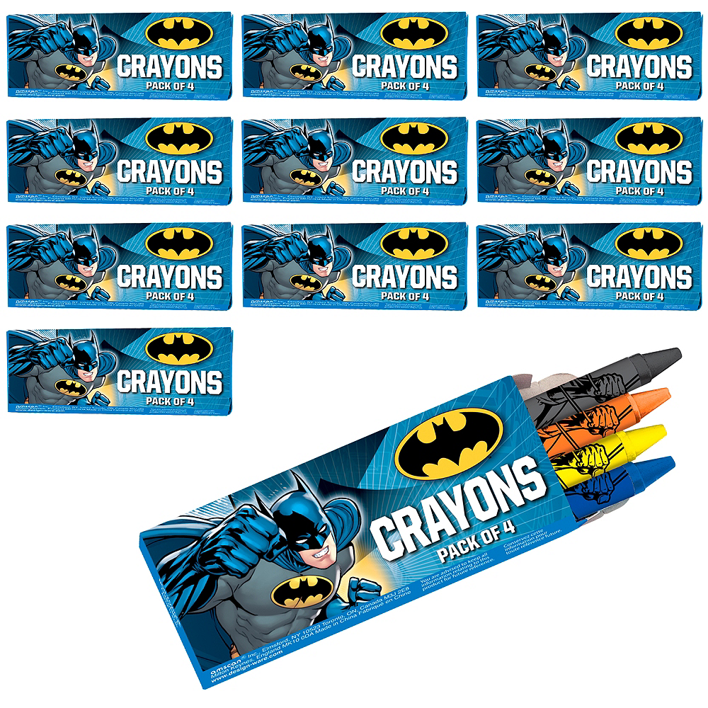 Batman Crayon Boxes 48ct Image #1