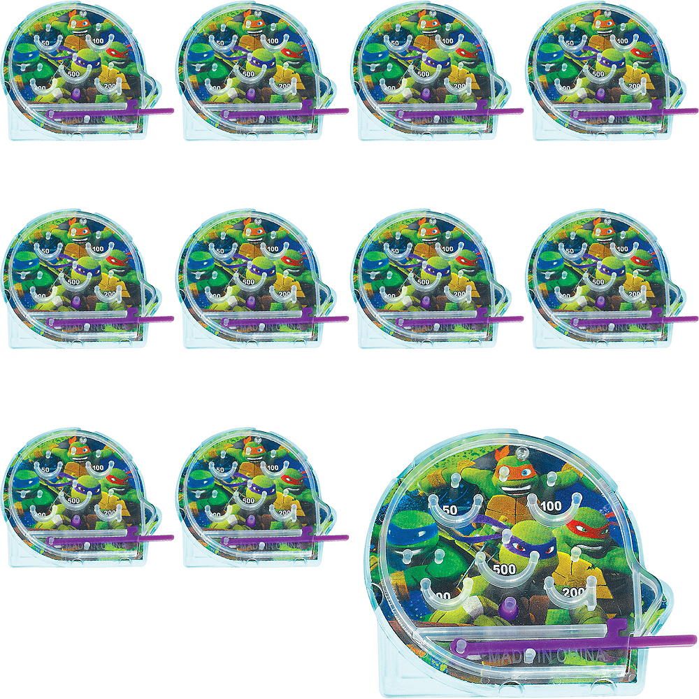 Teenage Mutant Ninja Turtles Pinball Games 48ct Image #1