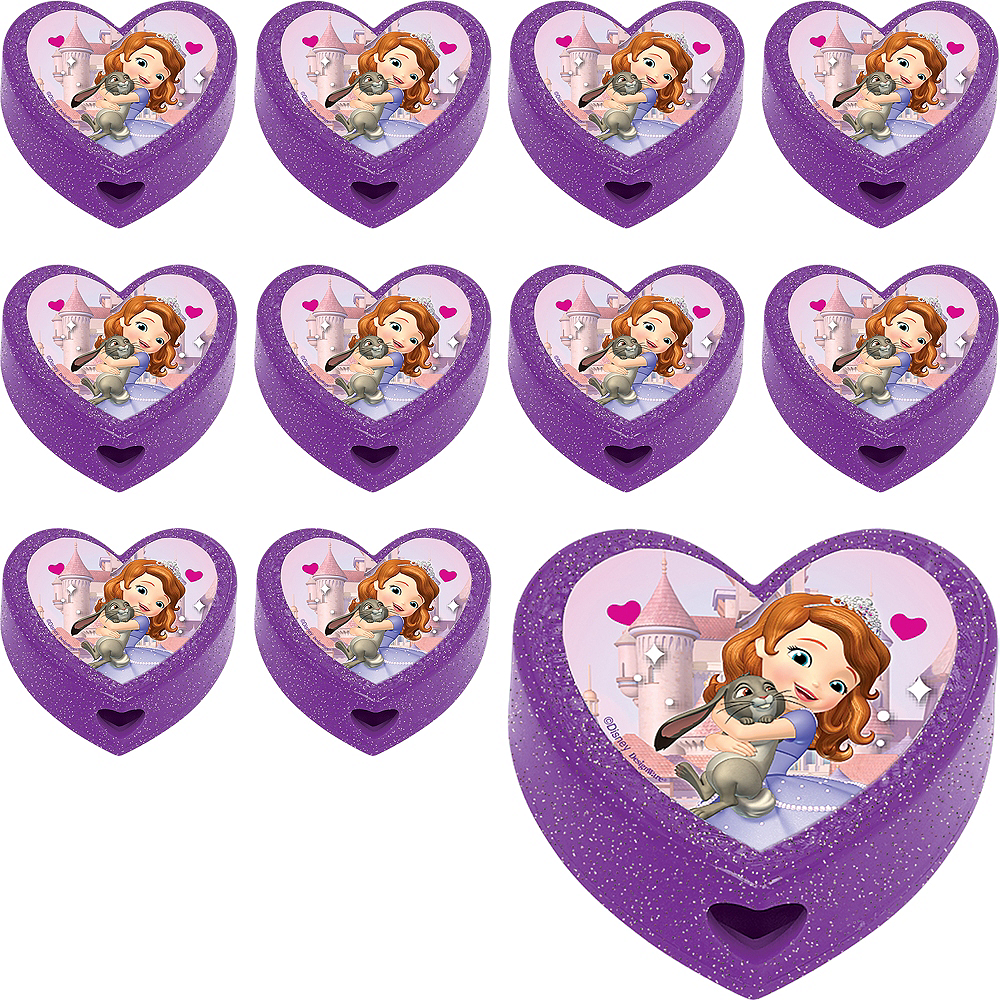 Sofia the First Pencil Sharpeners 48ct Image #1